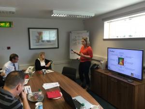 Workshop i Skottland